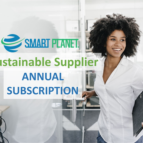 Sustainable Supplier Annual Subscription
