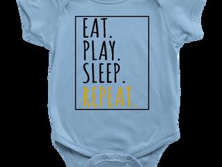 Eat, Play, then Sleep