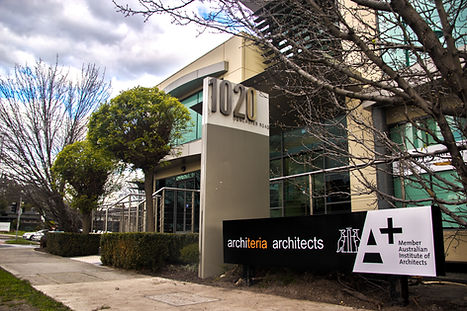 architeria architects office on Doncaster Road, Donaster East