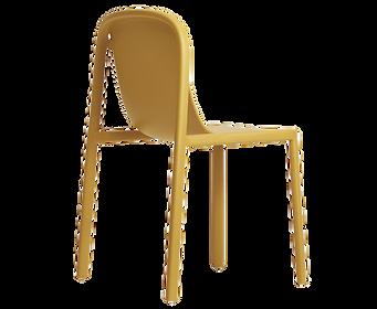 stackable plastic chair design