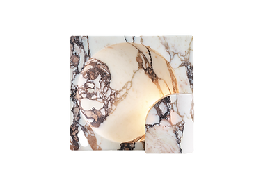 square sconce marble lighting design