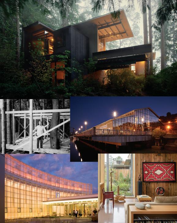 Sample works of Architect Jim Olson of Olson Kundig