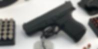 Glock G-43 9mm Compact Semi Auto Pistol.