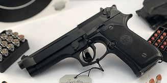 Beretta 92 9mm 4.2 inch Barrel Semi Auto