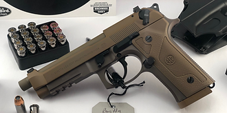Beretta M9A3 9mm 5 inch Barrel Semi Auto