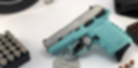 SCCY CPX-1 9mm 2-Tone Silver & Teal Semi