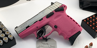 SCCY CPX-1 9mm 2-Tone Silver & Pink Semi