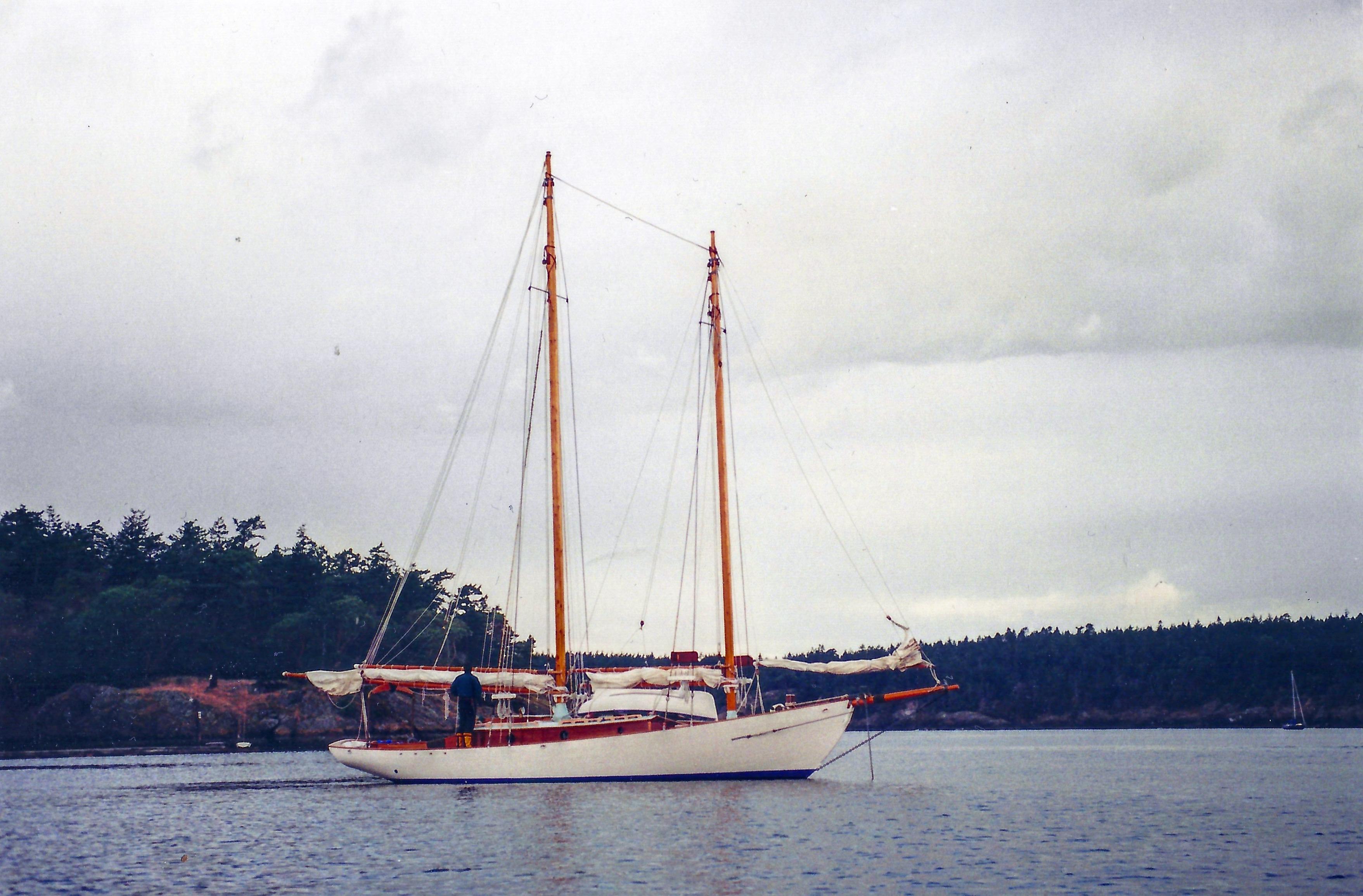 In the San Juan Islands