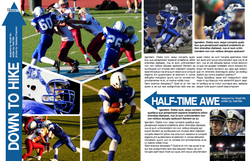 Football Yearbook Spread