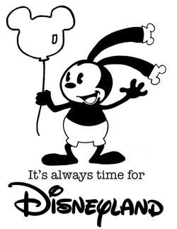 Oswald at Disneyland