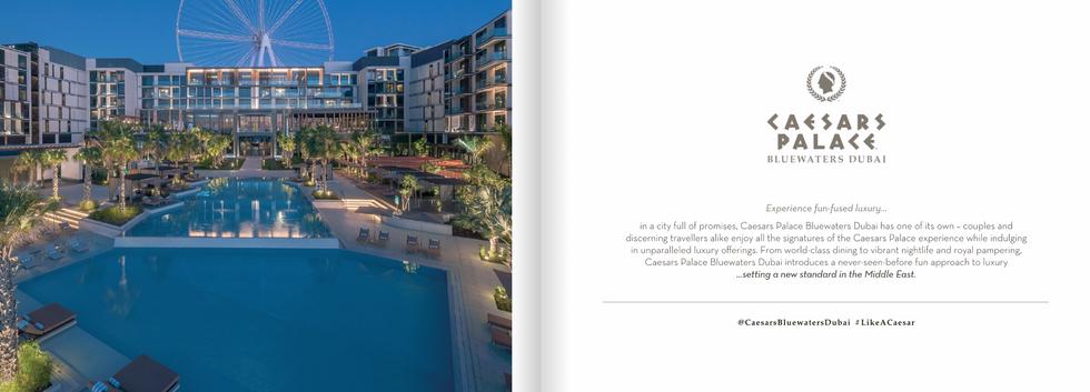 Caesars Bluewaters Dubai e-Book