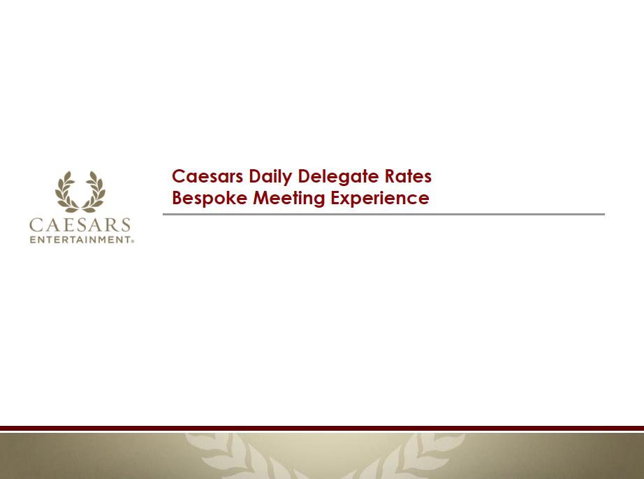 Delegate Rates