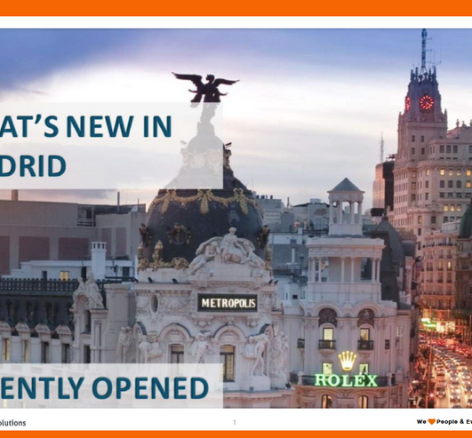 What's New in Madrid?