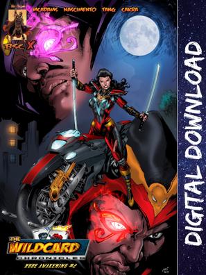 Wildcard Chronicles Rude Awakening Issue #2
