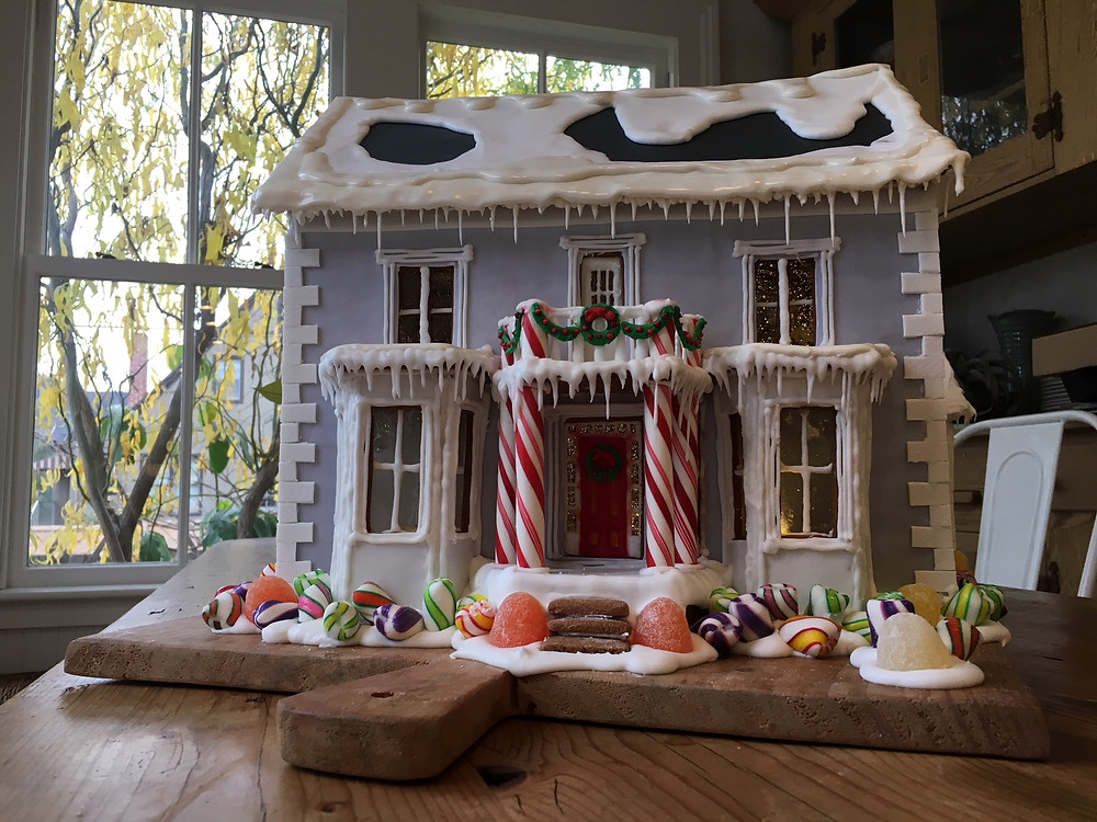 2017 Gingerbread house in honor of our historic Marshall House