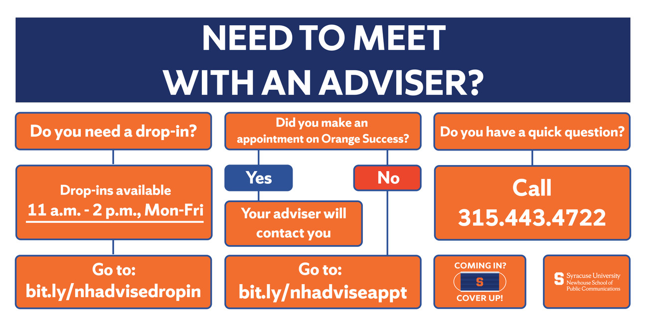 Need To Meet With An Adviser?