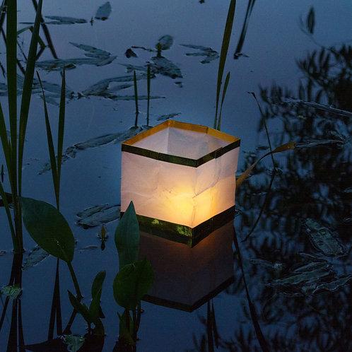 Floating Paper Wish Lanterns White 6ct