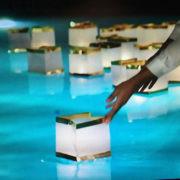 Floating Pool Lanterns