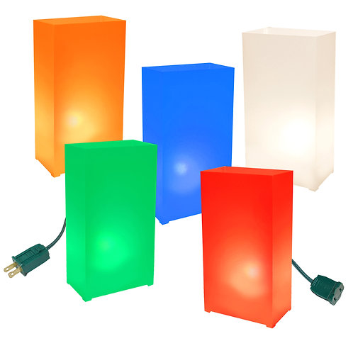 Electric Luminaria Kit - Multi Color 10L