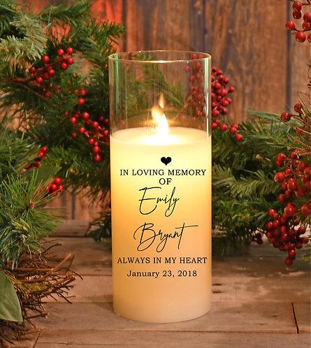 In Loving Memory Custom Centerpiece