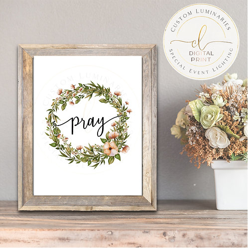 Pray Digital Quote *Instant Download*