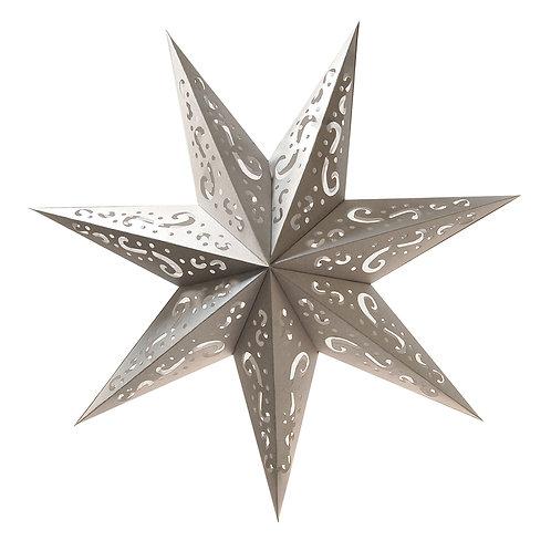 Paper Lantern Star - Silver 3ct