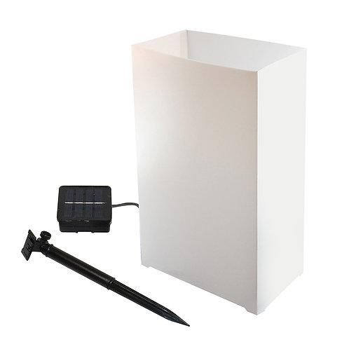 Solar Luminaria Kit - White 6ct