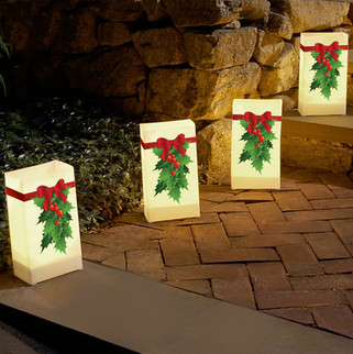 Christmas Luminary Bags