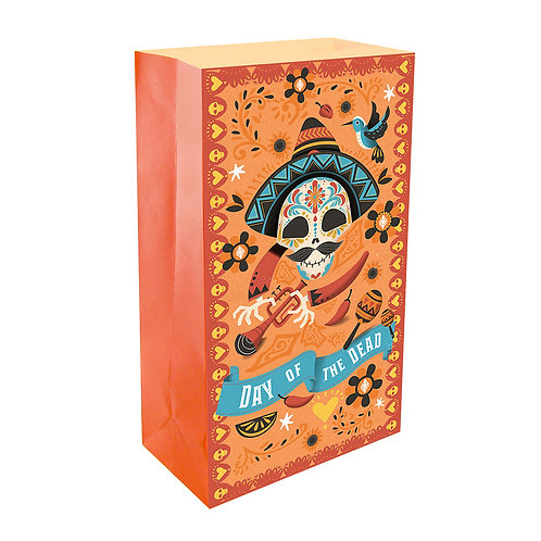 Day of the Dead Luminaries -  24ct