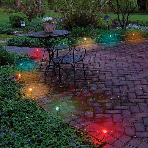 Electric Pathway Lights Party Time! 10ct