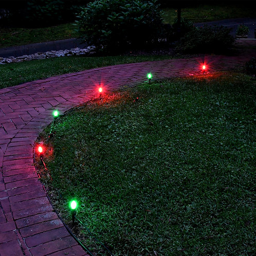 Electric Pathway LED Kit C9 Red & Green 8L