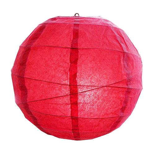 "Paper Lantern Criss Cross 12"" - Red 5ct"