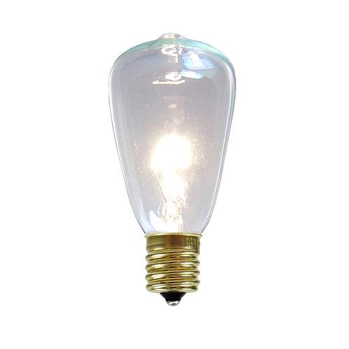 Bulbs – C9 ST38 Edison Clear 25ct