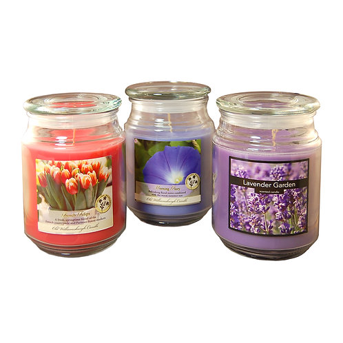 Scented Candles Floral Collection 3-18oz