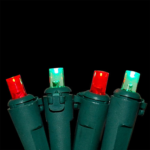 Electric String Light - Red & Green 70L
