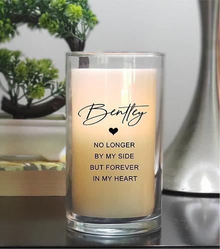 Pet Sympathy / Memorial Candle