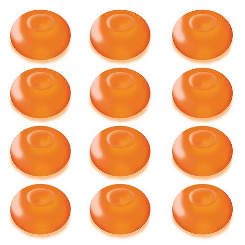 Battery LED Floating Blimp Lights - Orange 12L