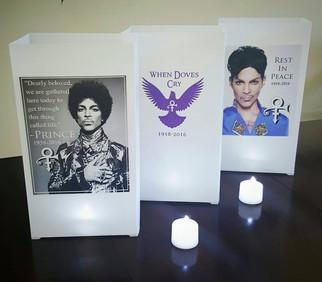 Prince Memorial Luminaries
