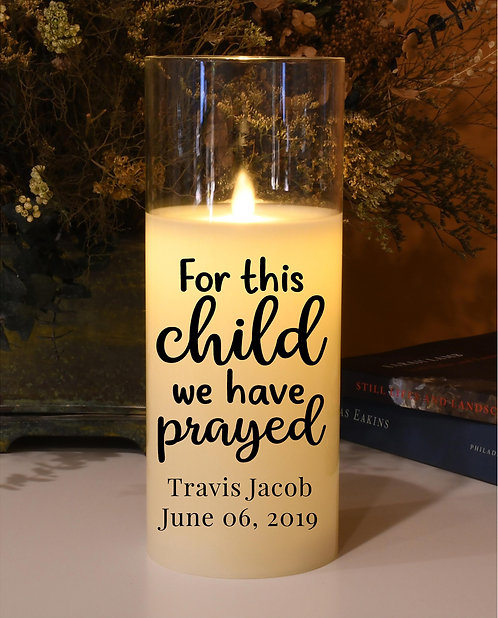 For This Child We Have Prayed - Natural Motion Flame