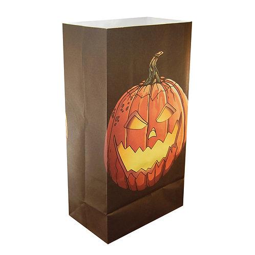 Luminaria Paper Bag - Jack O'Lantern 24ct