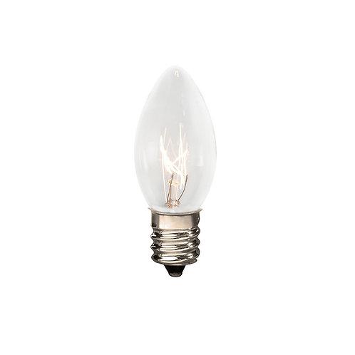 Bulbs - C7 5W Clear 25ct