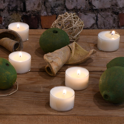 Tealight Wax Candles Soy Extended Burn 30ct