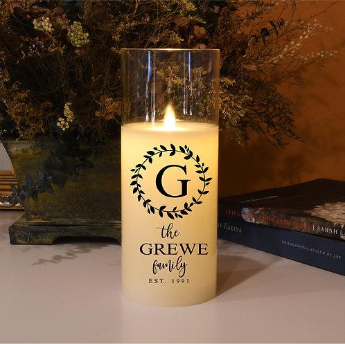 Family Established Custom Candle
