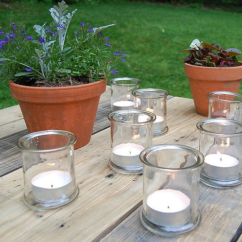 Mega Tealights Unscented 12HR Burn Time  - 24ct