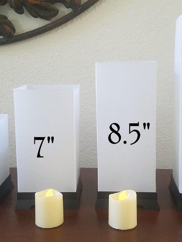 Custom Tabletop Lanterns