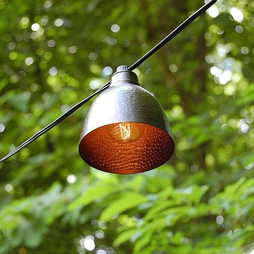 Electric Cafe String Lights - Edison/Bronze Metal 10L
