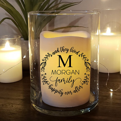 Happily Ever After Custom Candle