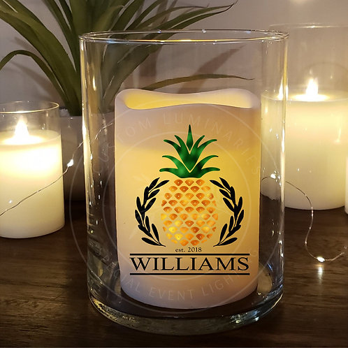 PINEAPPLE WELCOME CANDLE