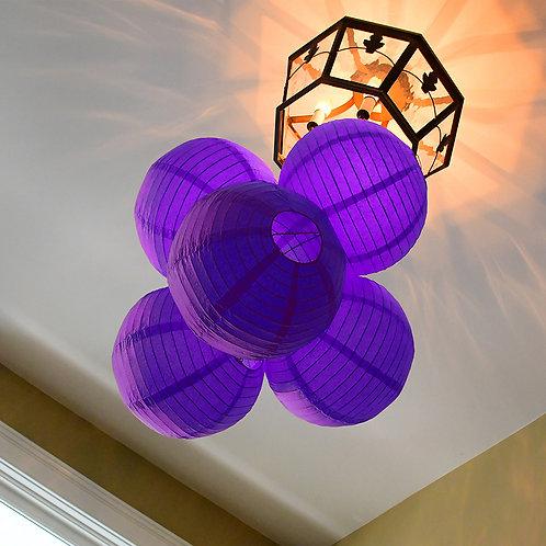"Paper Lantern 10"" - Purple 5ct"