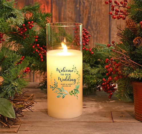 Welcome to our Wedding Custom Candle